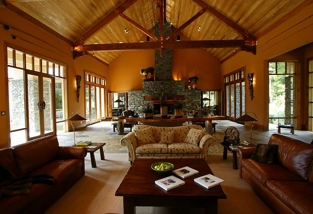 Treetops Lodge, Rotorua, is situated in 2,500 acres of secluded native forest and game reserve.