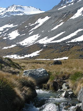 The property ranges from 2,500 to 7,600 feet in the Southern Alps on the South Island of New Zealand.