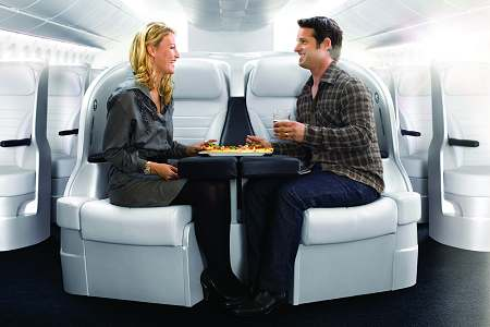 Air New Zealand's Premium Economy Spaceseat