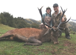 Pure NZ Hunting - Free Range Red Stag.  Click for full details regarding this package.