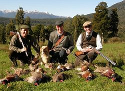 Wilderness Quest New Zealand - Game Bird Supa.  Click for full details regarding this package.